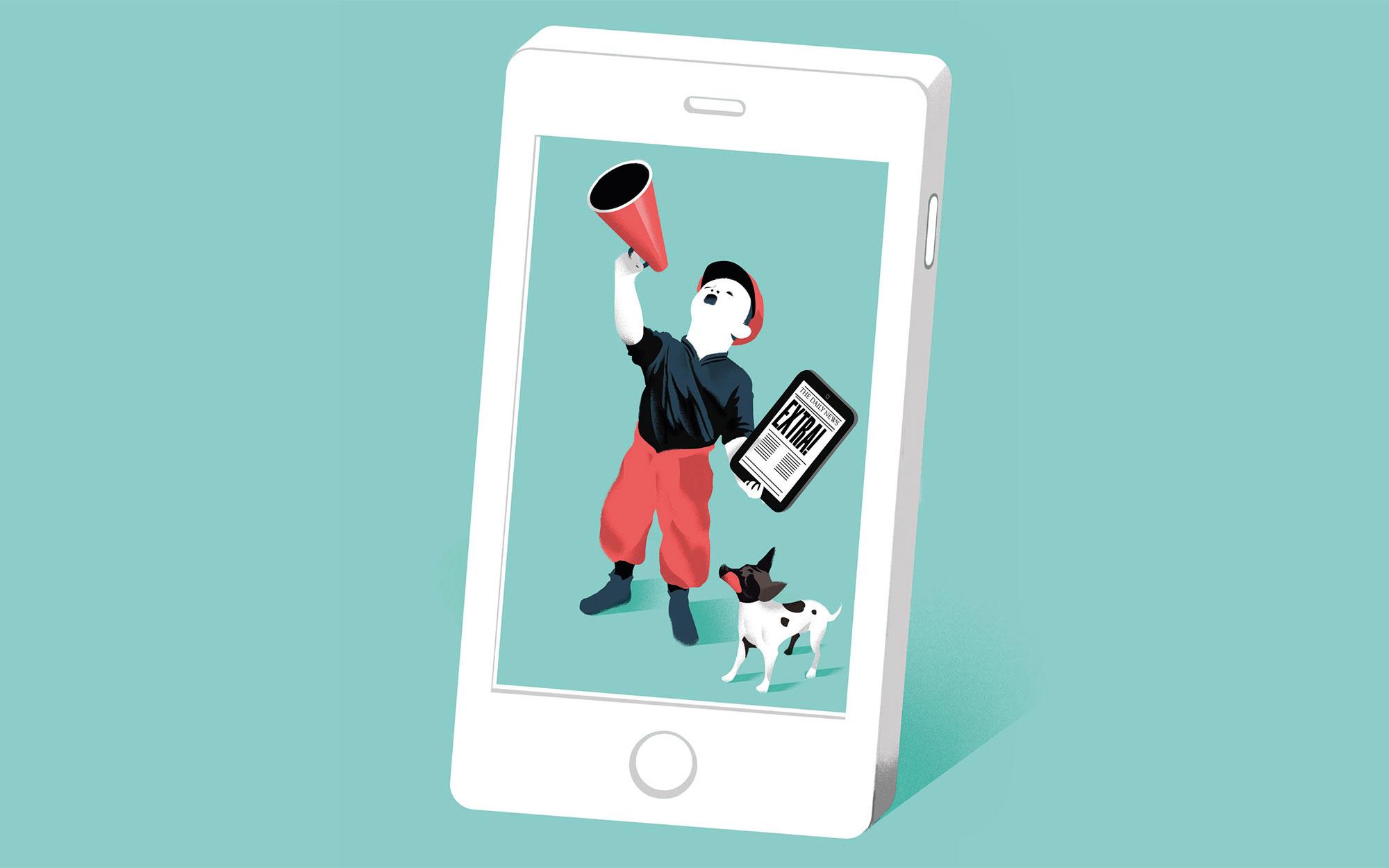 Los móviles como el nuevo papel de las noticias | Telos Fundación Teléfonica